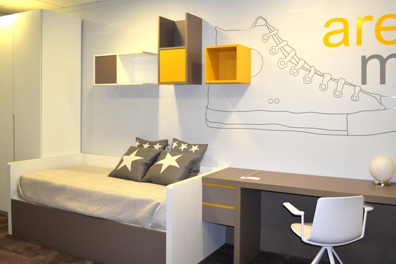 Dormitorio juvenil moderno s per descuento for Dormitorios super modernos