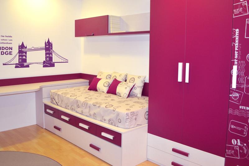 Habitacion juvenil nia simple inspiracion dormitorios inspiracin decoracin dormitorios latest - Dormitorios juveniles chica ...