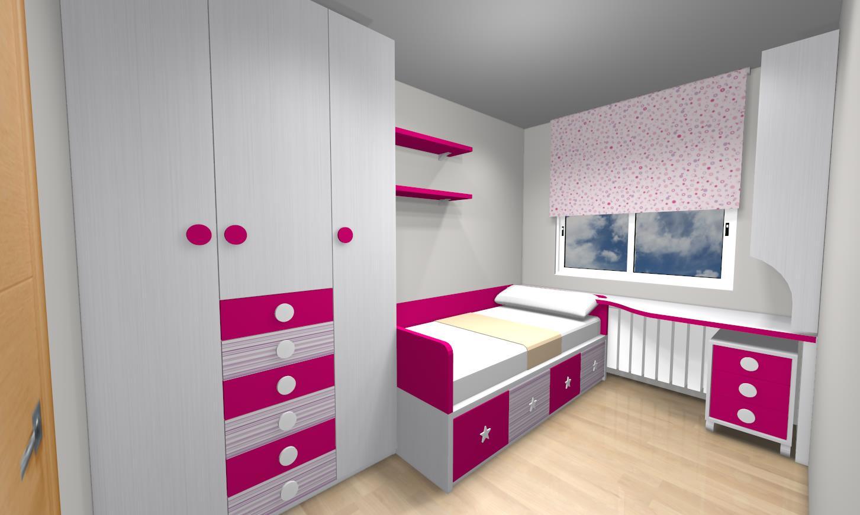 Habitaci n ni a muebles gasc n muebles gasc n el blog for Muebles habitacion infantil nina