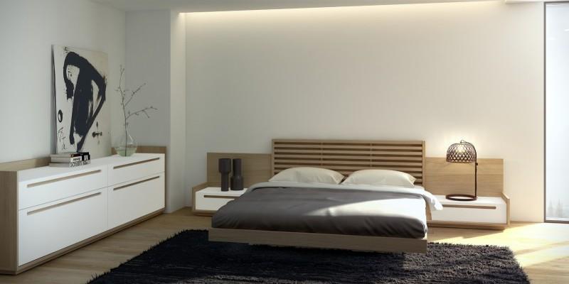Claves para conseguir un dormitorio relajante muebles - Espacio zen ...