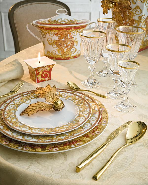 Trucos para preparar tu mesa navide a muebles gasc n el - Vajillas corte ingles ...