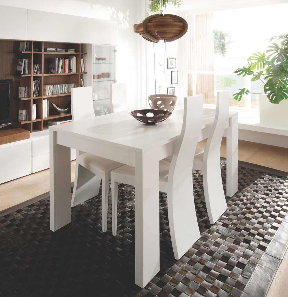 Trucos para preparar tu mesa navide a muebles gasc n el - Ikea mesa blanca ...