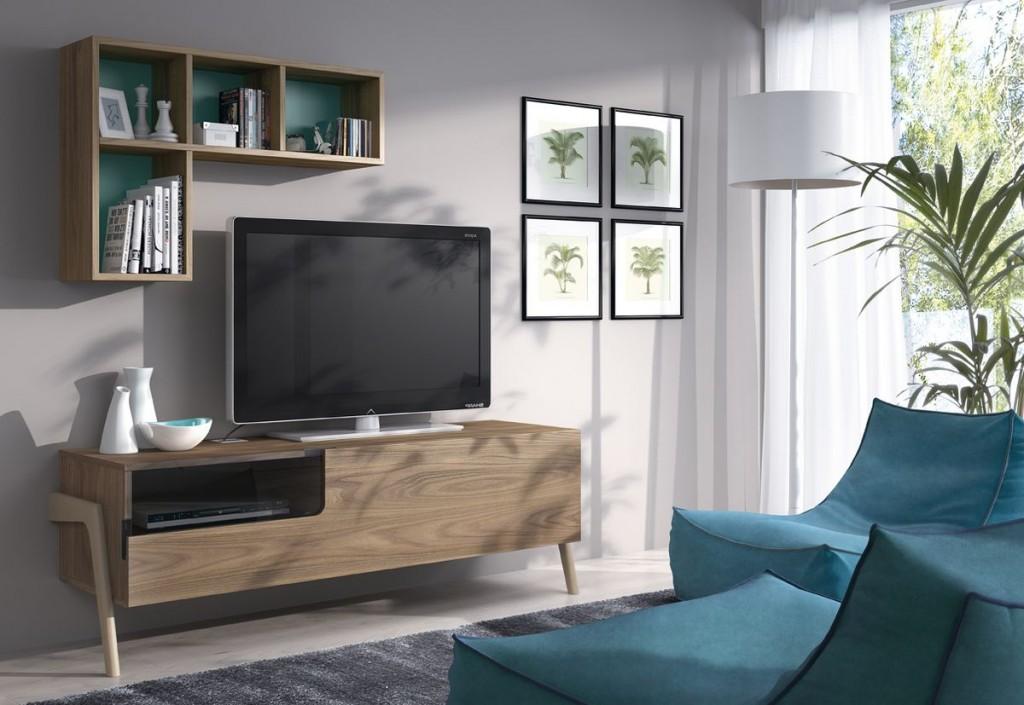 Un sal n diferente y funcional mesegu muebles gasc n - Muebles mesegue ...