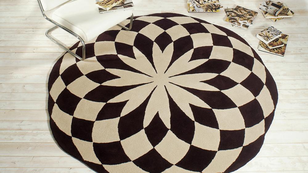 Decorar con alfombras redondas muebles gasc n el blog - Alfombras redondas ...