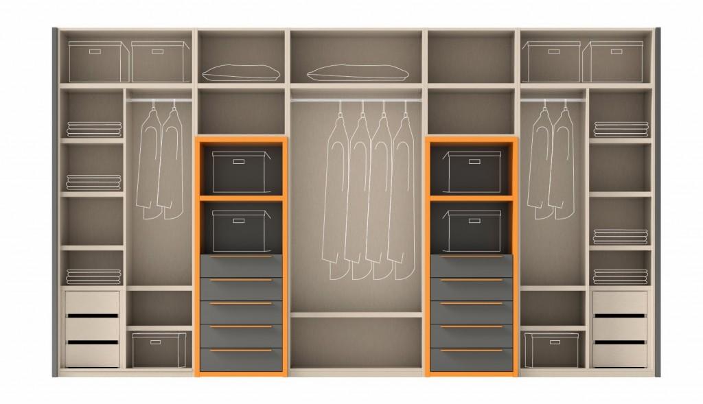 4 claves para elegir el armario muebles gasc n el blog - Distribucion de armarios ...