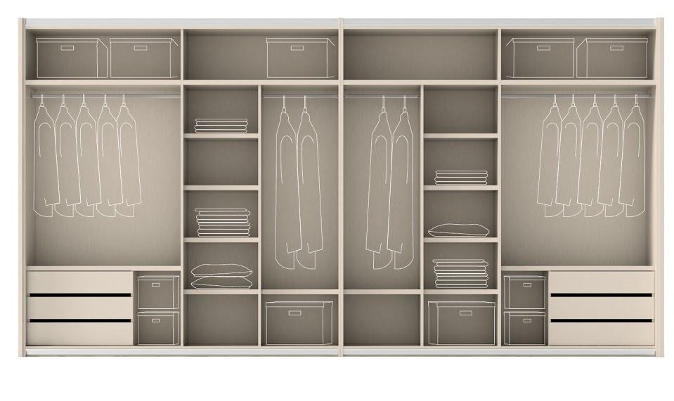 4 claves para elegir el armario muebles gasc n el blog for Diseno interior de armarios