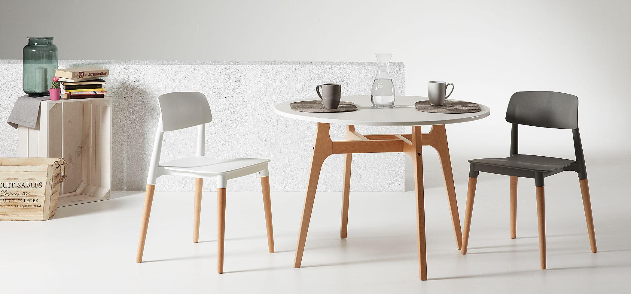 C mo encontrar la mesa comedor perfecta muebles gasc n - Que poner encima mesa comedor ...