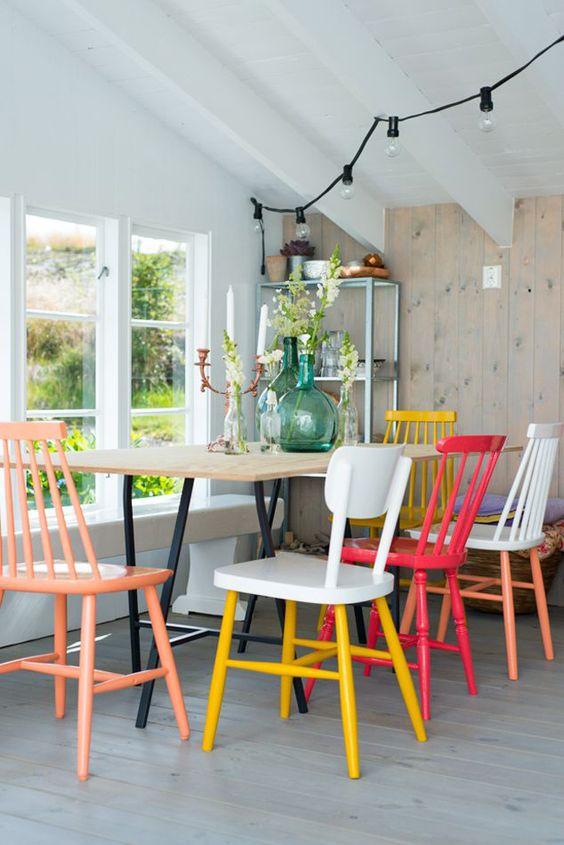 La tendencia es mezclar estilos muebles gasc n el blog for Combinar lamparas salon comedor