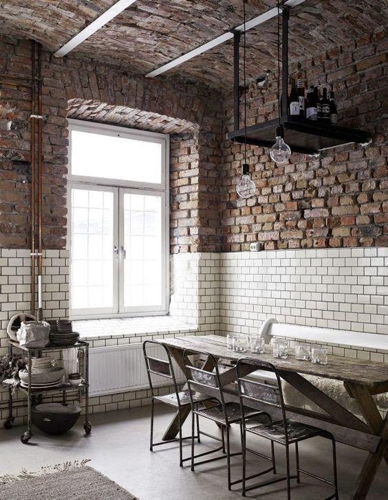 Claves del estilo industrial muebles gasc n el blog for Paredes estilo industrial