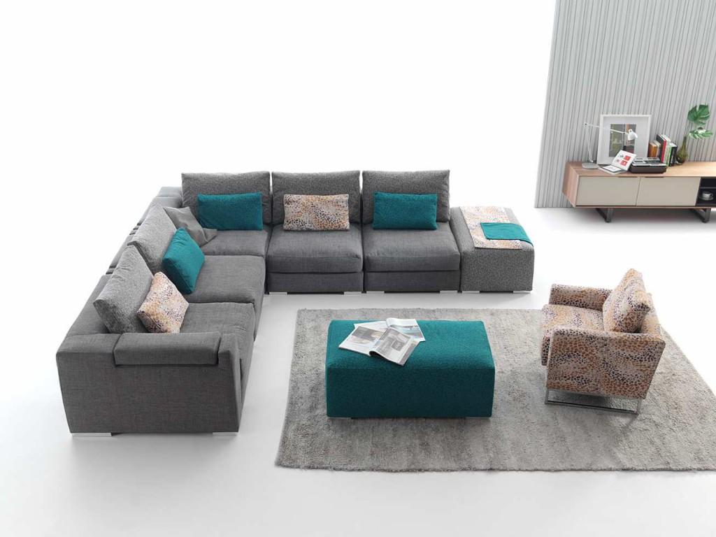 Sof de tela o sof de piel muebles gasc n el blog - Tipos de piel para sofas ...
