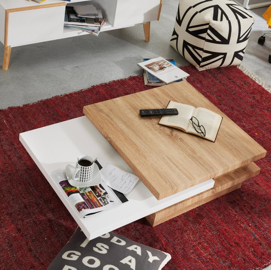 La mesa de centro adecuada muebles gasc n el blog - Mesa centro baja ...