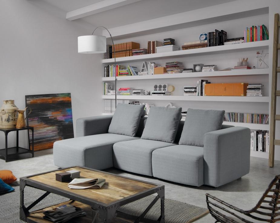 La mesa de centro adecuada muebles gasc n el blog for Mesa centro industrial