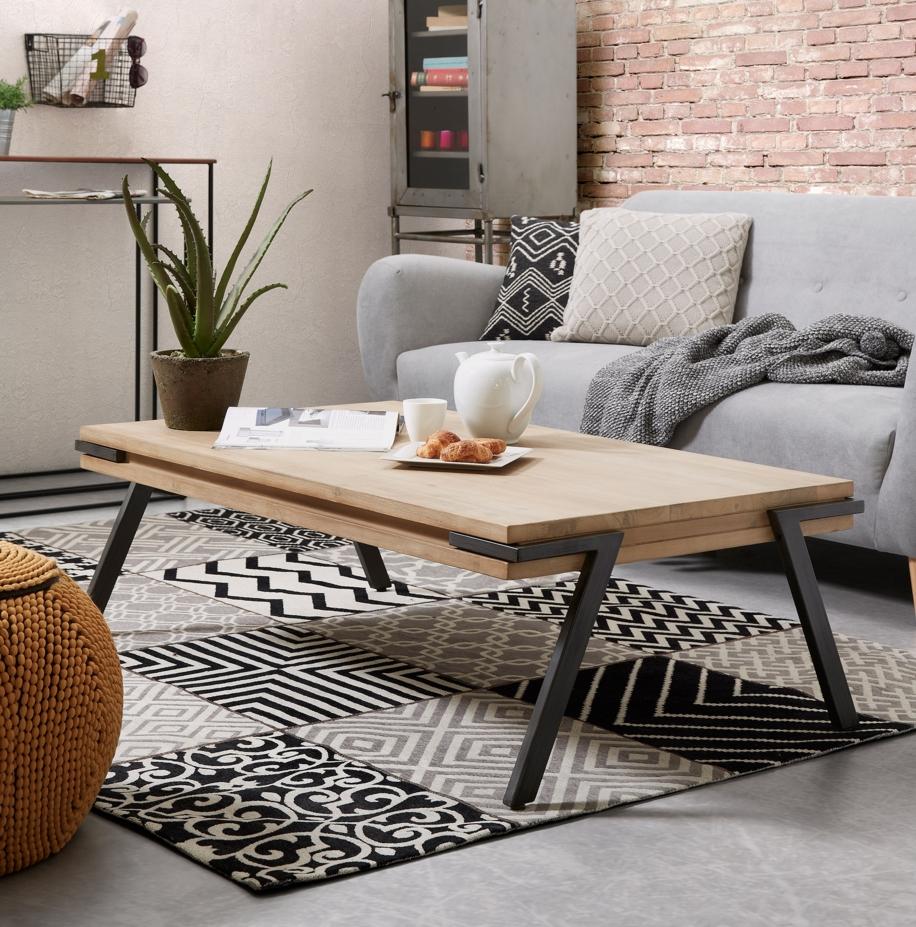 La mesa de centro adecuada muebles gasc n el blog - Mesas de centro que se elevan ...