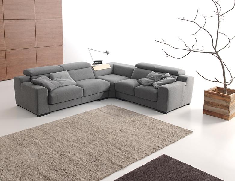 Sof de tela o sof de piel muebles gasc n el blog - Tapizar un sofa de piel ...