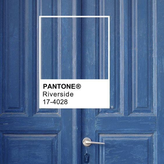 PANTONE riverside colores tendencia