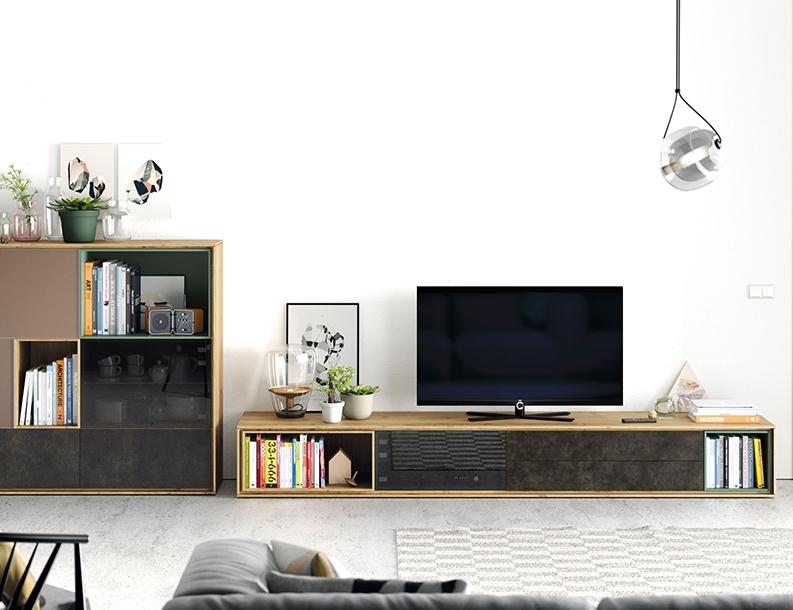 5 ideas para ampliar tu casa sin obras muebles gasc n - Muebles bajos salon ...