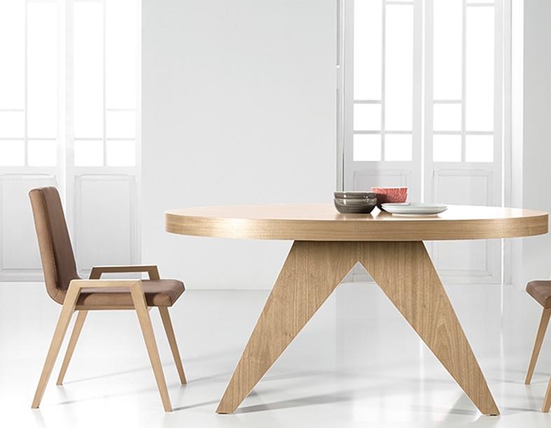 Mesas ovaladas muebles de comedor de lujo wa mesa de - Mesas ovaladas extensibles ...