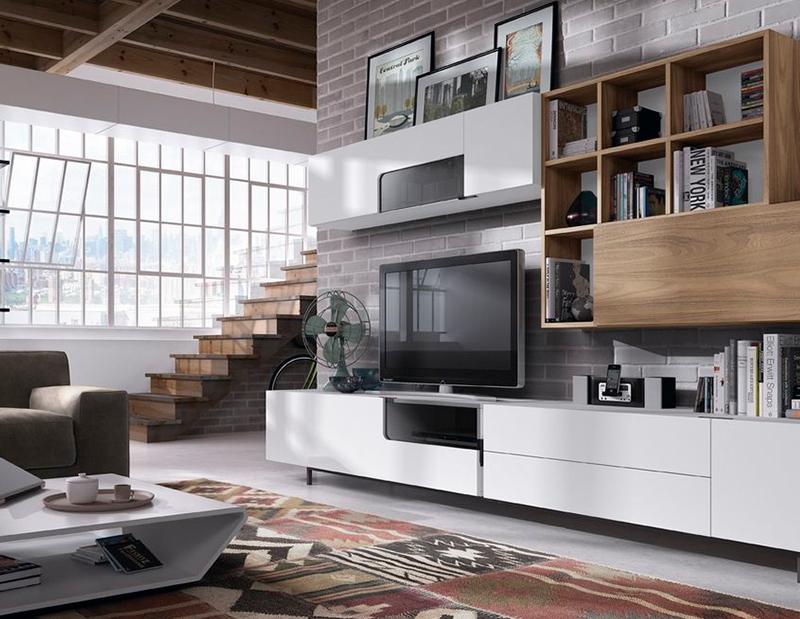 Como crear una decoraci n sencilla y acogedora muebles - Como decorar mueble salon ...