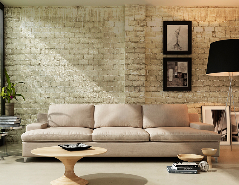 Los mejores sof s para decorar un sal n muebles gasc n - Sofas para salones ...