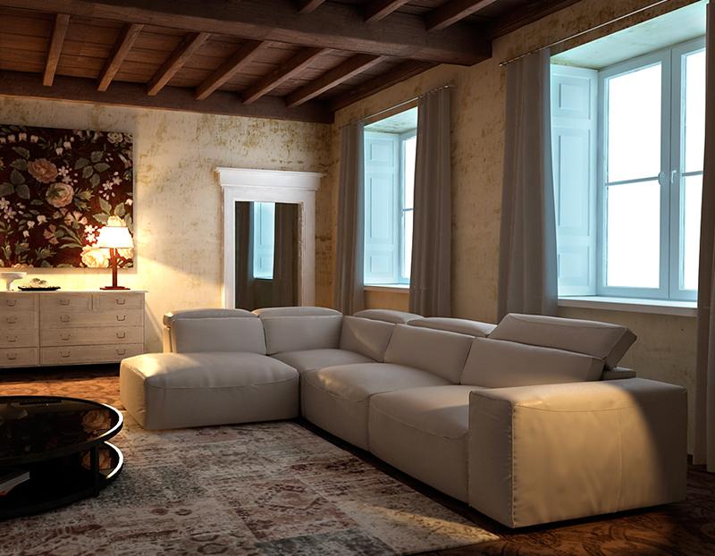 Los mejores sof s para decorar un sal n muebles gasc n - Cuales son los mejores sofas ...