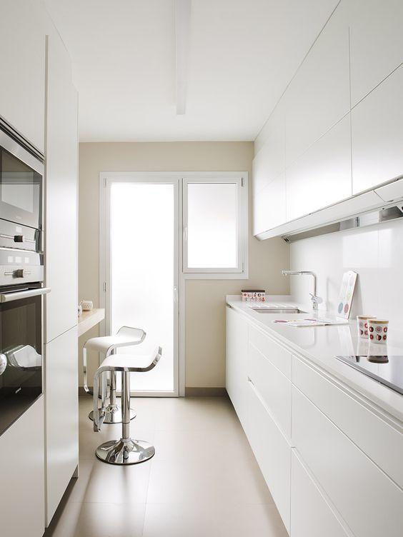 Tips para decorar cocinas alargadas | Muebles Gascón, el blog