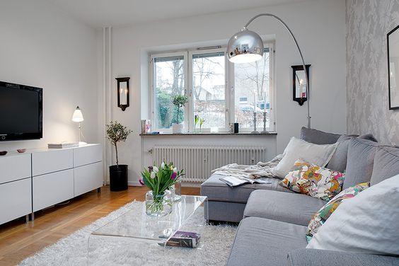 6 consejos para decorar un salón pequeño