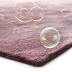 alfombra gruesa morada kp