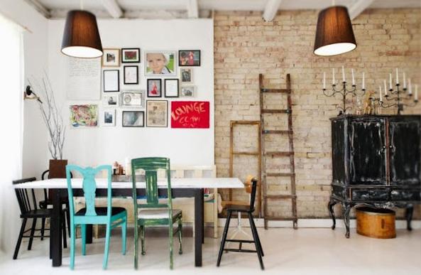 Inspiration Day Dining Room Comedor Eclectico by La Musa Decoracion 015