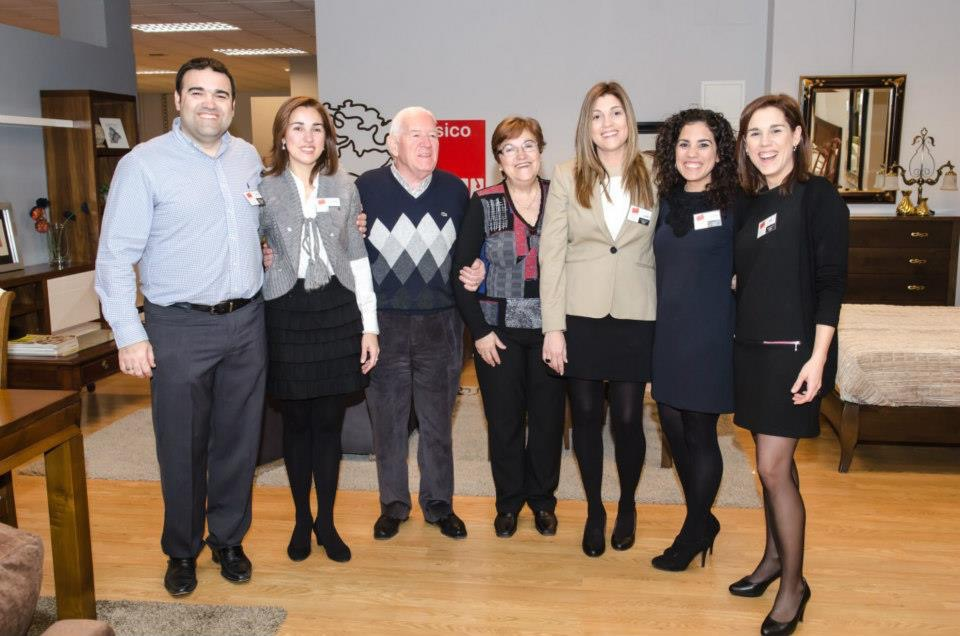 Foto de parte de la familia Gascón.