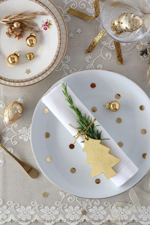 decoracion-mesa-navidad-dorado