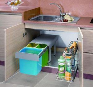 Método konmari en la cocina