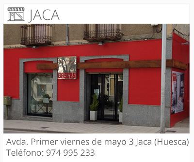Muebles Gascón | LOCALIZACIÓN JACA | Tienda de Muebles Huesca