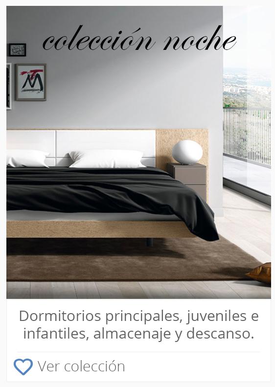 Muebles Gascón | COLECCIÓN NOCHE | Tienda de Muebles Huesca