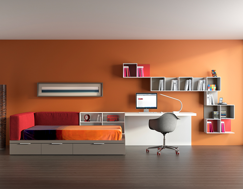 Hermoso cuarto juvenil im genes como decorar una - Como decorar habitacion juvenil femenina ...